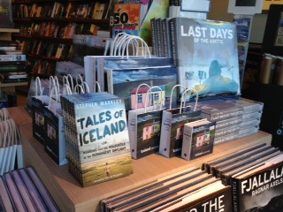Tales of Iceland in Iceland's IDA bookstore.