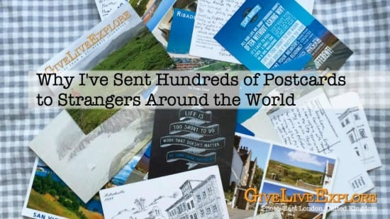 Why i've sent hundreds of postcards to strangers around the world