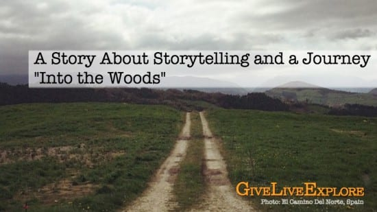 A story about storytelling and a journey into the wood - el camino