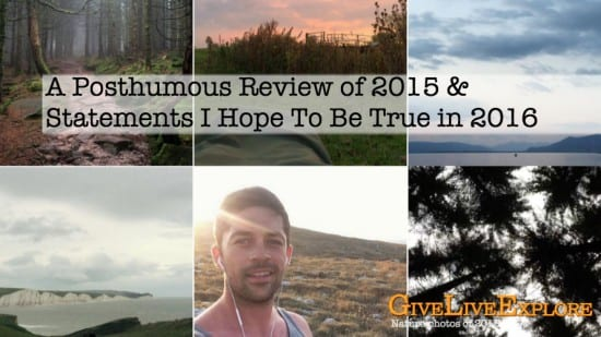 A posthumous review of 2015